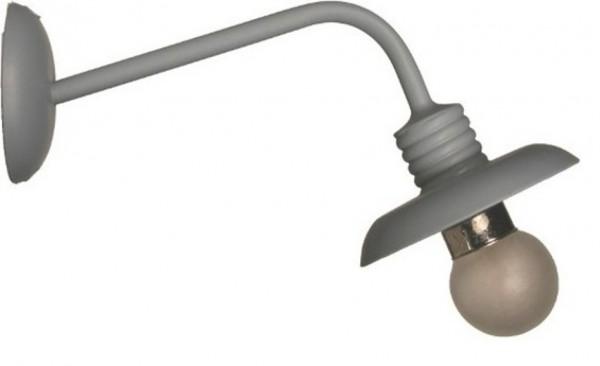 Wandlampe mit runder Halterung