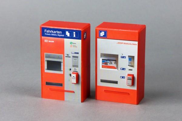 RhB/DB-Fahrkartenautomat, Bausatz