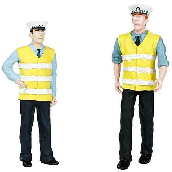 Polizei- und Sicherheitskraft III, 2 Stück