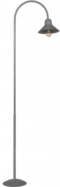 Bogenlampe mit flachem Schirm, 325mm hoch
