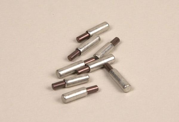 Kohlen mit Hülse, 14mm und 16mm, 8 Stück