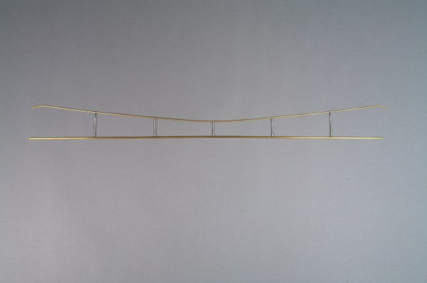 Fahrdrahtbausatz mit Tragseilen, 12teilig a 90cm