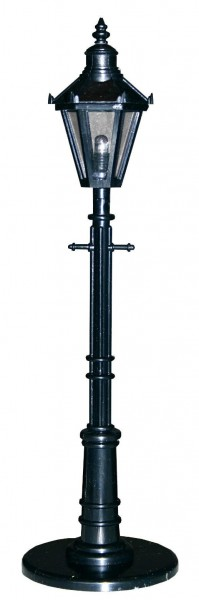 Straßenlaterne 210mm hoch, wie LGB 50500, schwarz