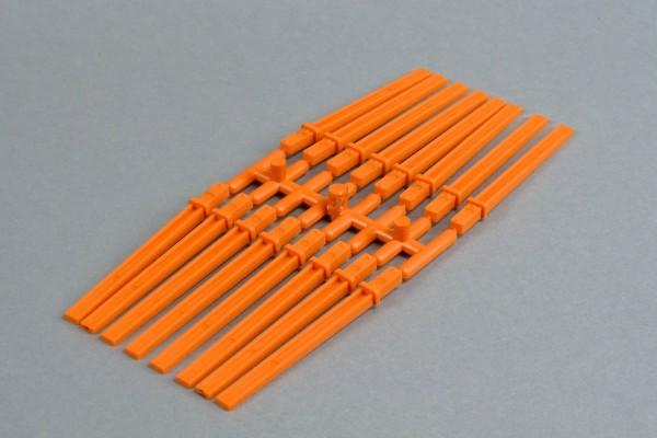 Rungen orange 4060/17, 16 Stück