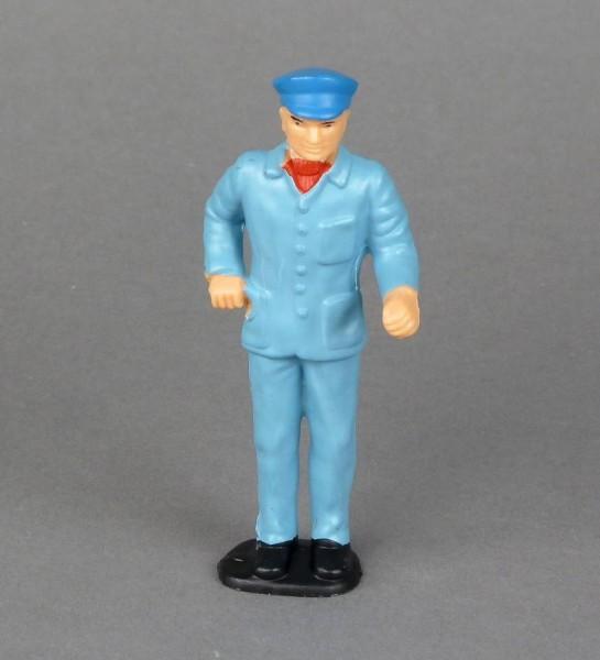 RhB-Lokführer stehend, blau oder blau/schwarz