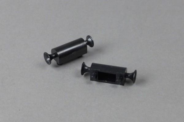 Signalhorn 2060/28 schwarz, 2 Stück