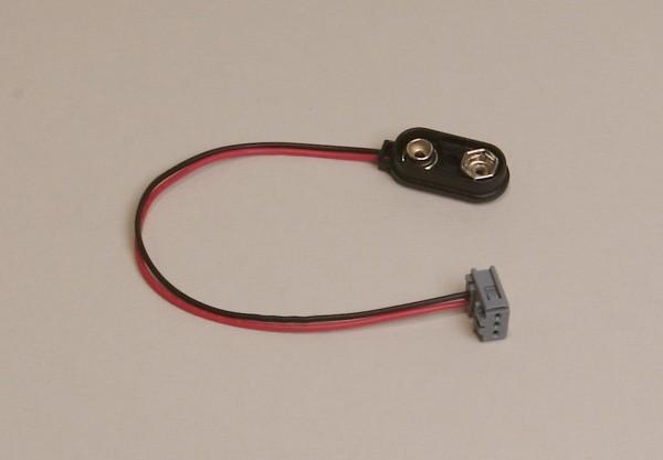Batterieclip für CL und LGB® Sound mit Stecker