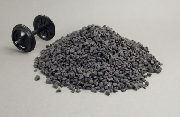 Ladegut Kohle aus Kunststoff, ca. 250 Gramm