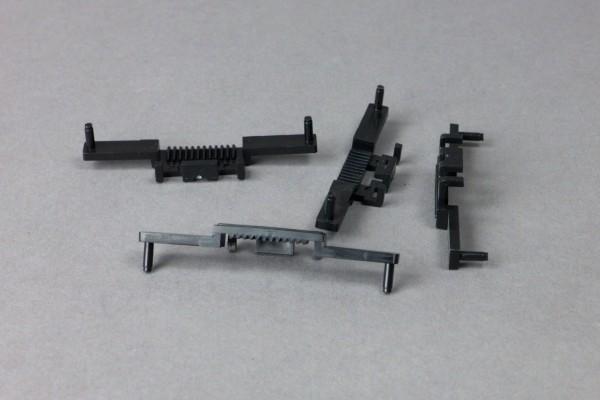 Zahnstange für Weichenantrieb 1201/12, 4 Stück