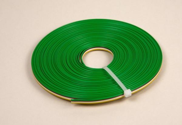 Litze 4-polig/4-farbig, 10 Meter