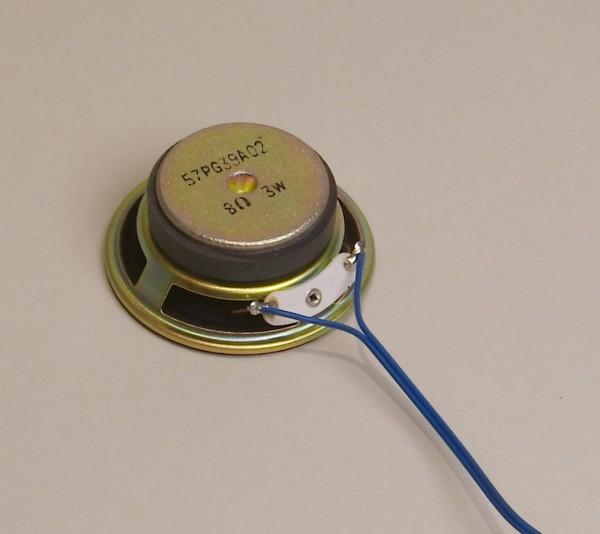Lautsprecher Ø 57 mm