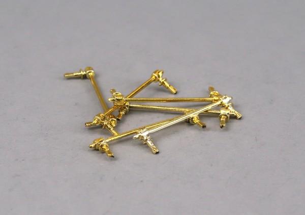 Griffstange Rusty gold, 6 Stück