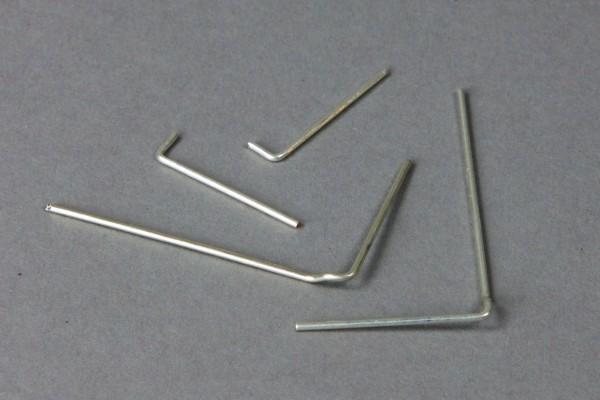 Kontaktdrähte für B-Getriebe, 4-teilig