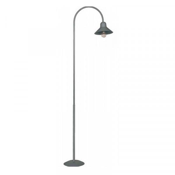 Bogenlampe mit flachem Schirm, 380mm hoch