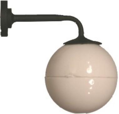 Kleine Wandlampe mit Kugelkopf