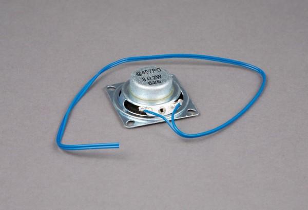 Lautsprecher klein, Ø 40 mm, eckig