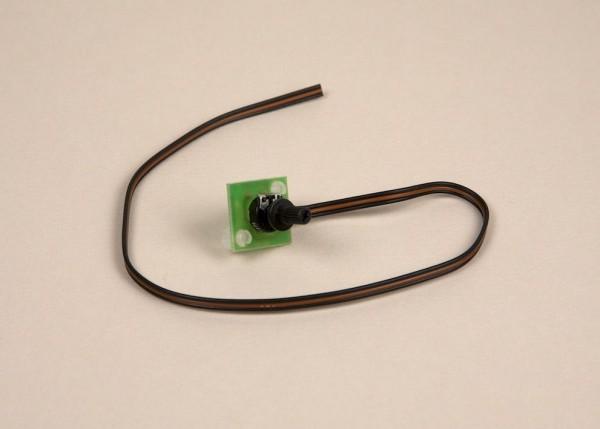Potiplatine mit Anschlusskabel ohne Stecker