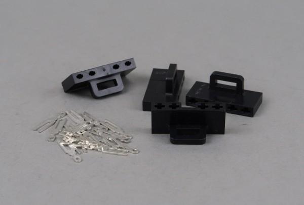 Getriebestecker schwarz, 4 Stück