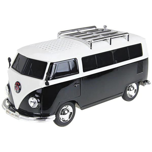 VW-Bus T1 mit Soundmodul, schwarz